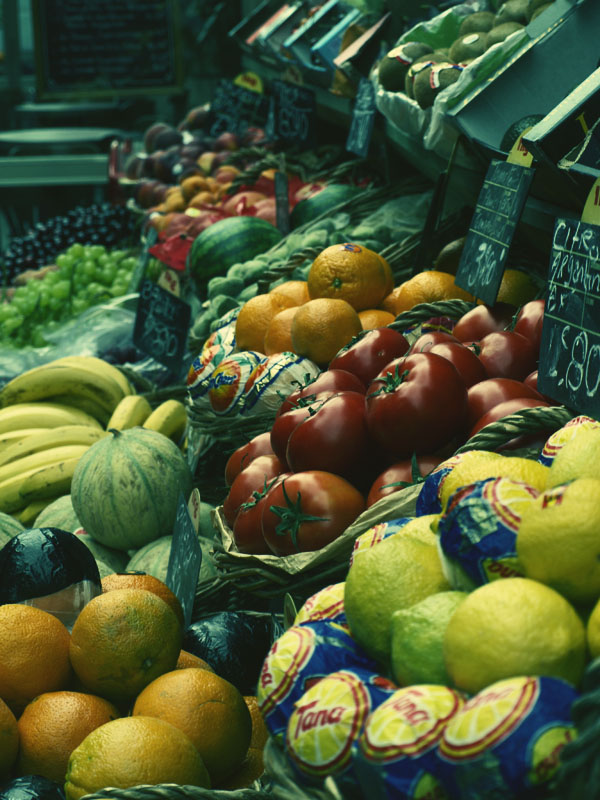 Fruits - Cross-Processing