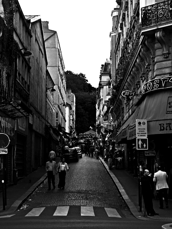 Paris - Black&White (High Contrast)