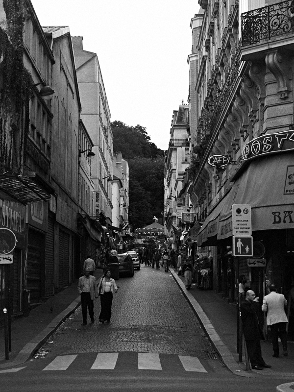 Paris - Black & White (High Iso)