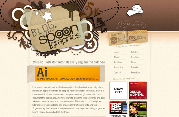 Blog.SpoonGraphics