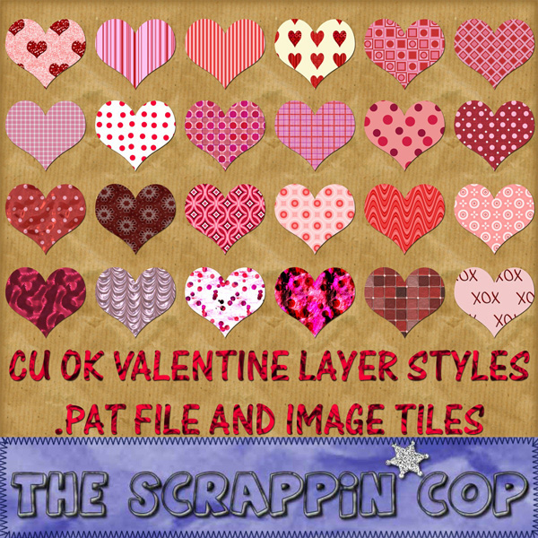 CU OK Valentine Patterns