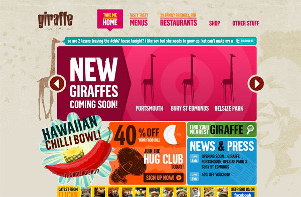 Giraffe Restaurants