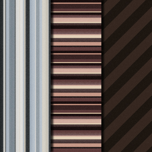 Grungy Stripes Patternset Preview