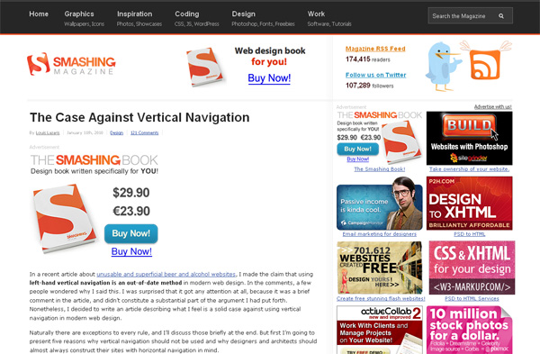 The Case Against Vertical Navigation