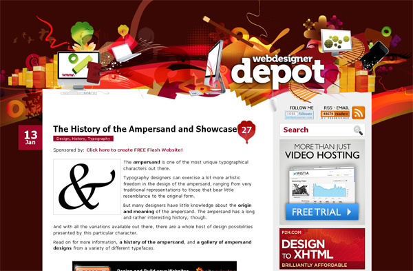 The History of Ampersand and Showcase