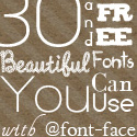 30 Beautiful and Free Fonts You Can Use with @font-face