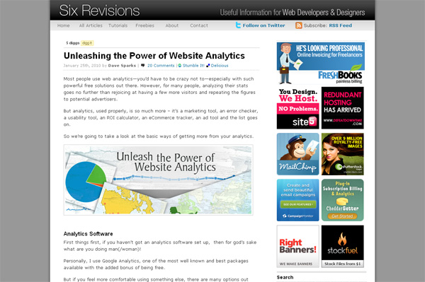 Unleashing the Power of Website Analytics