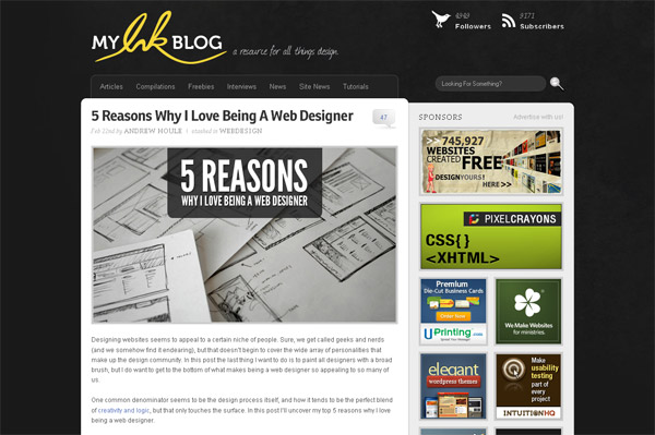 5 Reasons Why I Love Being A Web Designer