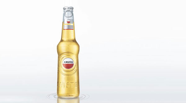 Amstel Premium Quality Lager Bottle