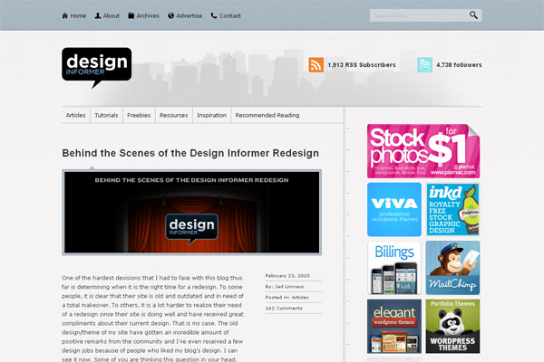 Behind the Scenes of the Design Informer Redesign