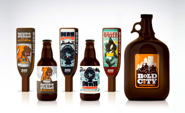 Bold City Brewery Bottles