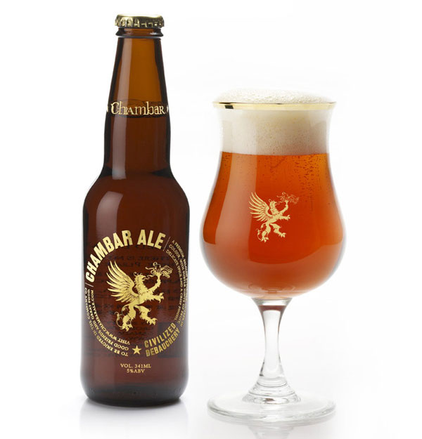 Chambar Ale Bottle