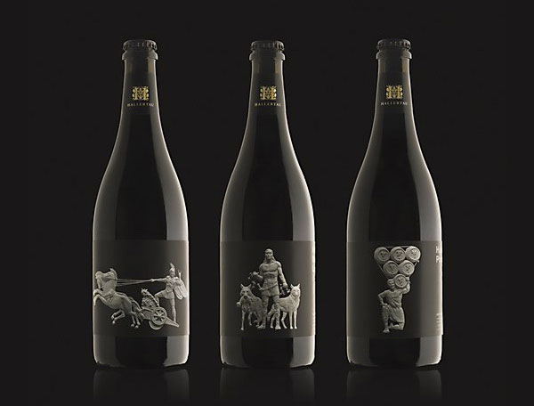 Hallertau Extra Strength Heroic Beer Bottles