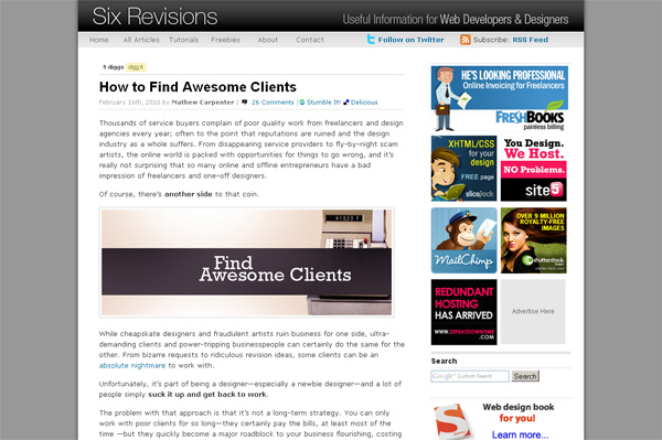 How to Find Awesome Clients