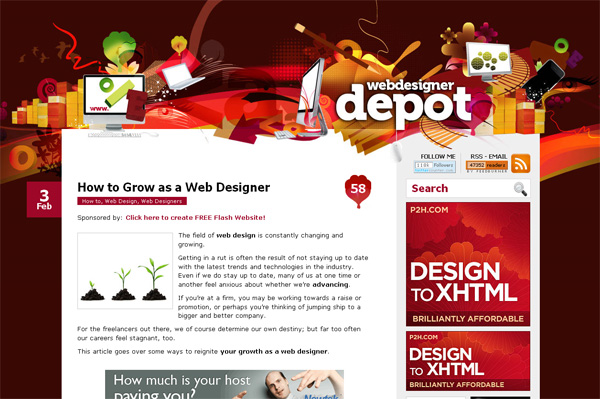 How to Grow as a Web Designer
