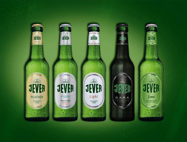 Jever Bottles