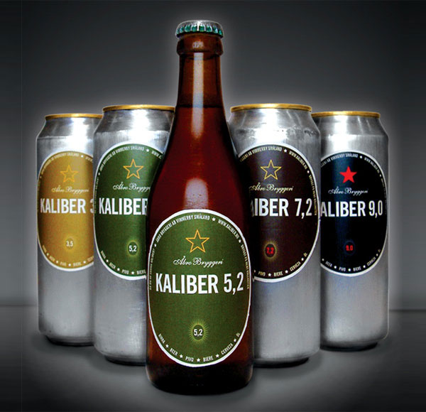 Kaliber Bottle and Cans