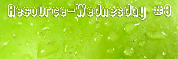Resource-Wednesday #8