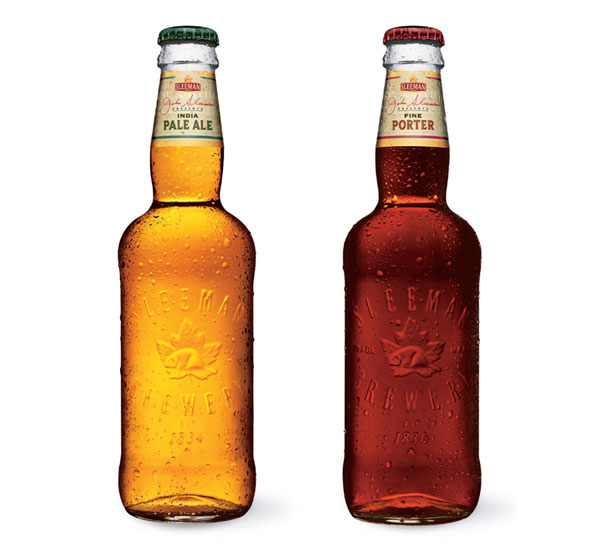 Sleeman Brewery Bottles
