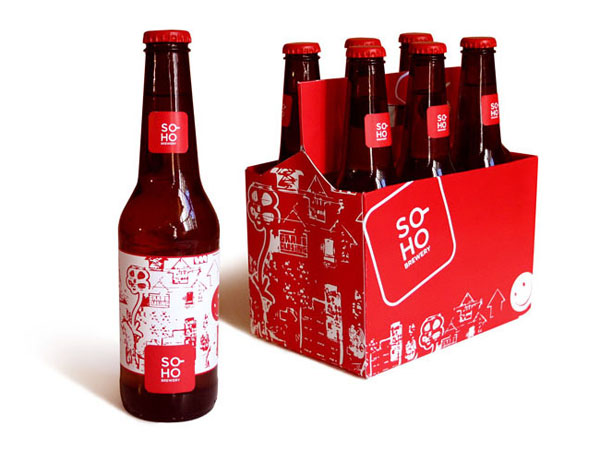 Soho Brewery Bottles and Package
