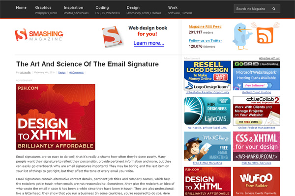 The Art And Science Of The Email Signature