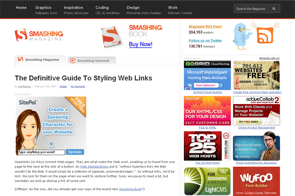 The Definite Guide To Styling Web Links