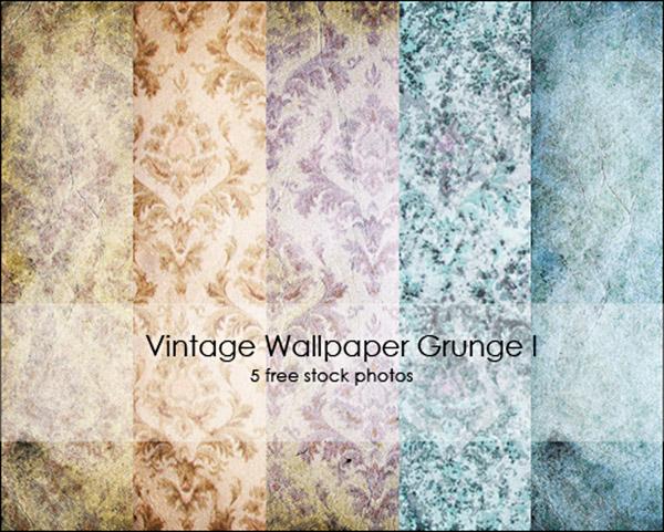 Vintage Wallpaper Grunge I