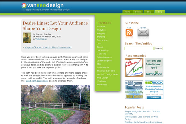 Desire Lines: Let Your Audience Shape Your Design