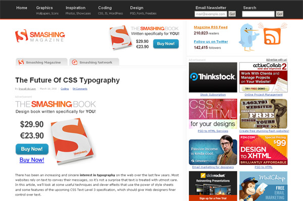 The Future of CSS Typography