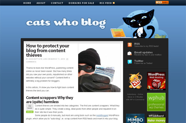 How to protect your blog from content thieves
