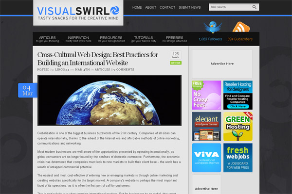 Cross-Cultural Web Design: Best Practices for Building an International Websites