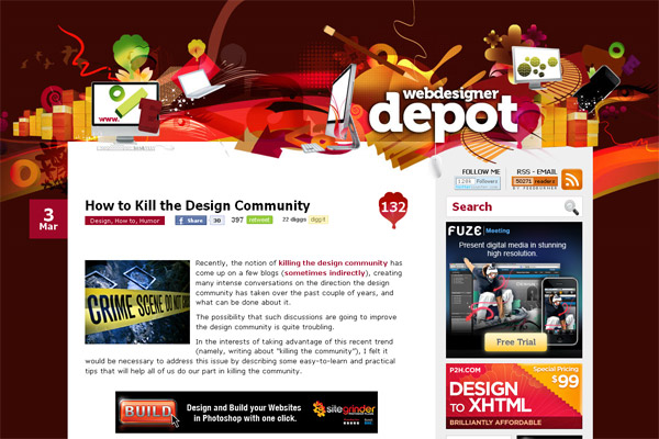How to Kill the Design Community