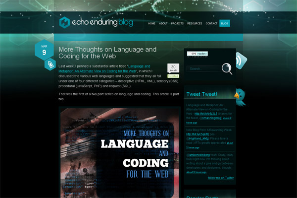 More Thoughts on Language and Coding for the Web
