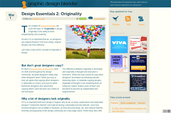 Design-Essentials 2: Originality