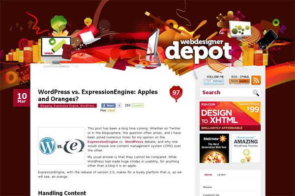 Wordpress vs. ExpressionEngine: Apples and Oranges?